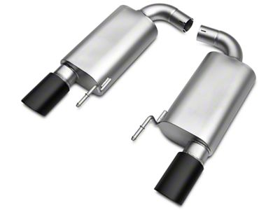 LTH Axle-Back Exhaust System w/Black Tip (15-17 GT)