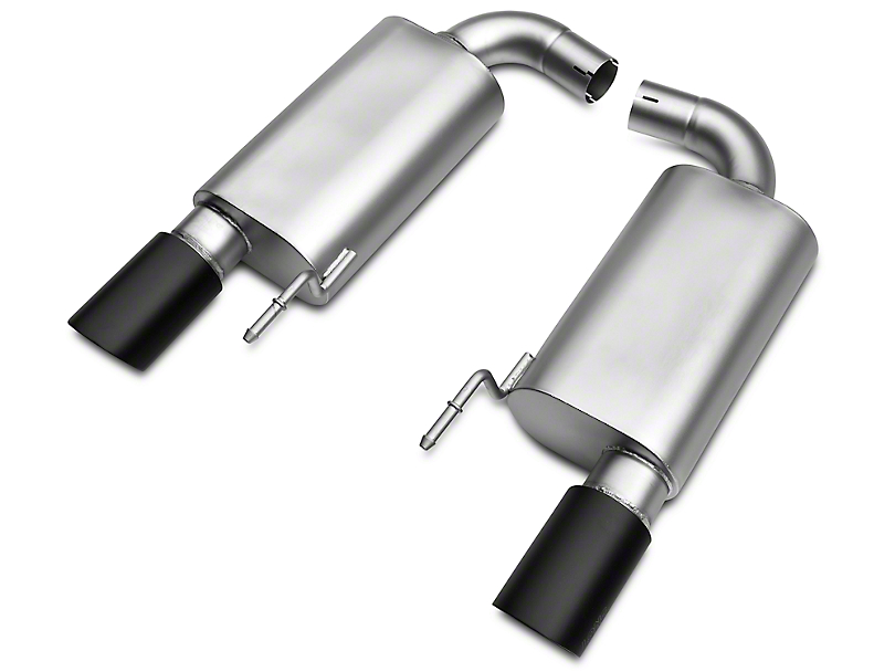 LTH Axle-Back Exhaust System w/ Black Tips (15-17 GT)