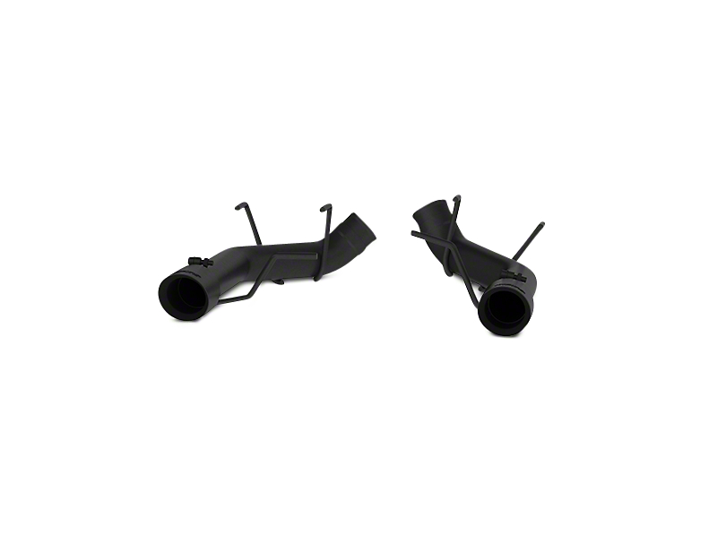 MBRP 3 in. Muffler Delete Axle-Back Exhaust - Black Coated (11-14 GT)