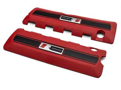 Roush Coil Covers - Red (11-17 GT; 12-13 BOSS 302; 15-19 GT350)