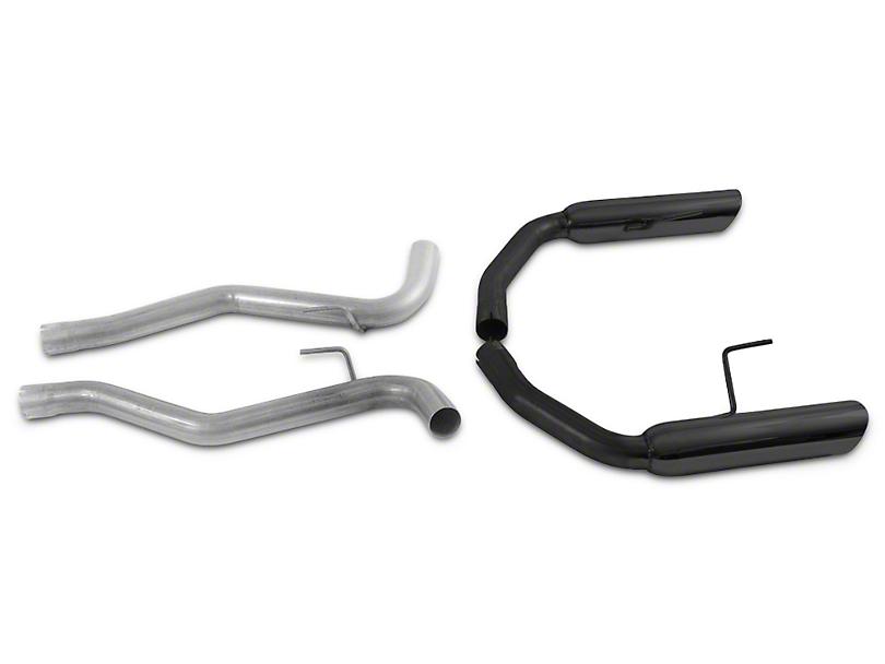 MAC Boom Tube Axle-Back Exhaust w/ Black Tips (15-17 GT Fastback)