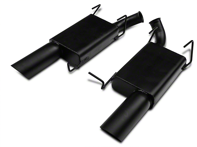 MAC Axle-Back Exhaust - Black Ceramic Coated (11-14 V6)