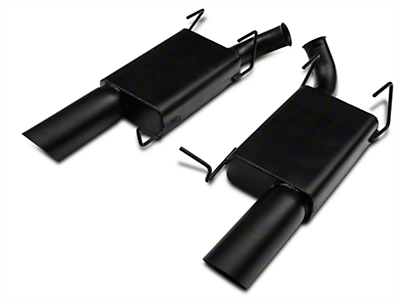 MAC Axle-Back Exhaust - Black Ceramic Coated (11-14 V6)