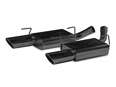 MAC Axle-Back Exhaust - Black Ceramic Coated (05-10 GT)