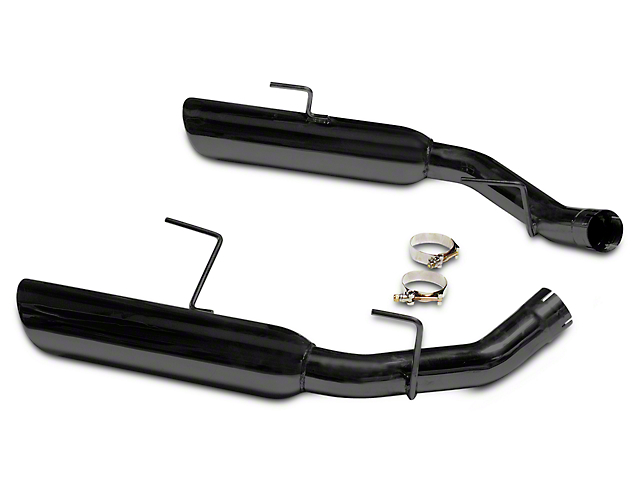 MAC Boom Tube Axle-Back Exhaust - Black Ceramic Coated (05-10 GT)