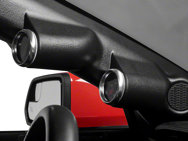 Auto Meter A-Pillar Gauge Mount - Dual 2-1/16 in. (15-17 Coupe)