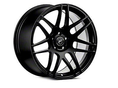 Forgestar Matte Black F14 Drag Edition Wheel - 15x8 - 0mm Offset (05-14 All)