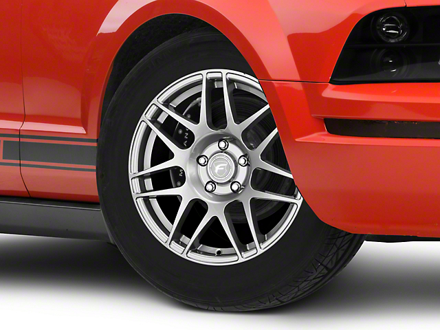 Forgestar F14 Drag Edition Gunmetal Wheel - 17x4.5 - Front Only (05-14 All)