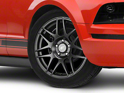 Forgestar F14 Drag Edition Matte Black Wheel - 17x4.5 (05-14 All, Excluding 13-14 GT500)