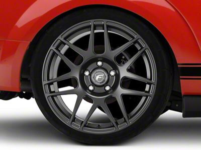 Forgestar F14 Drag Edition Matte Black Wheel - 17x10.5 - Rear Only (05-19 All)