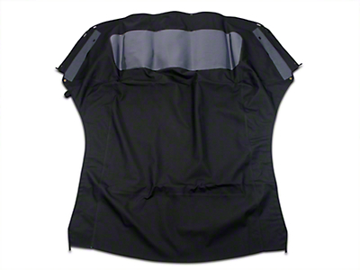OPR Replacement Convertible Top w/ Plastic Rear Window - Black (94-04 Convertible)