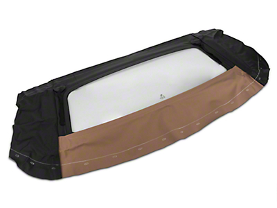 OPR Replacement Convertible Tinted Rear Window Glass - Saddle (94-04 All)