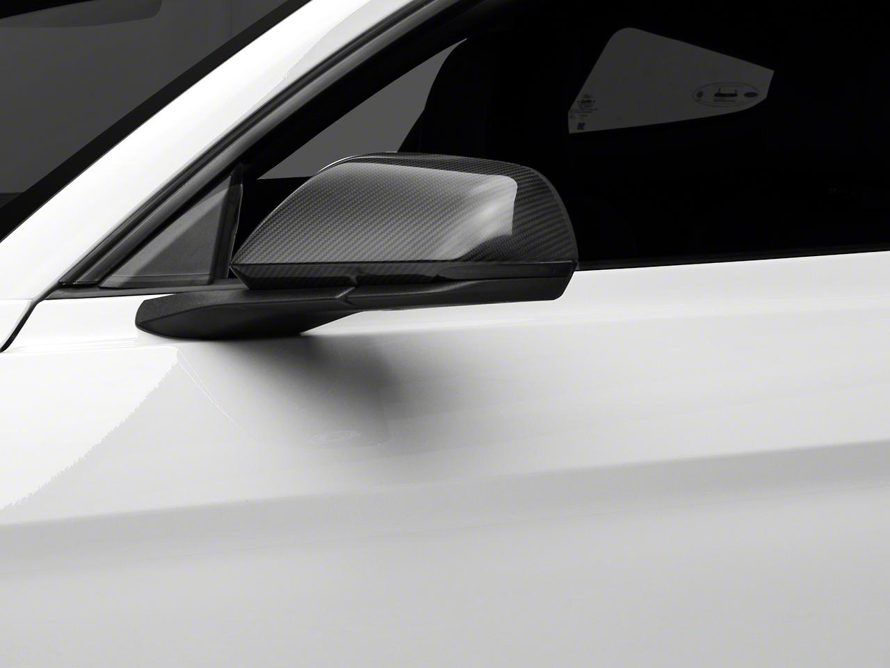 MMD Carbon Fiber Mirror Covers (15-18 GT, EcoBoost, V6 w/ Mirror Signals)
