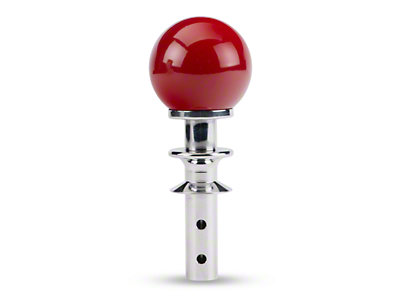 White Madness Automatic Transmission Shifter Conversion Kit - Red Shift Knob (15-18 GT, EcoBoost, V6)