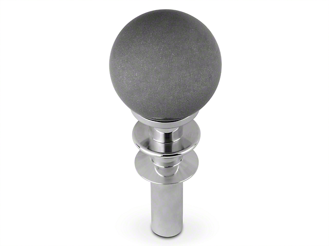 White Madness Automatic Shifter Conversion Kit - Silver Shift Knob (15-18 GT, EcoBoost, V6)