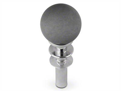 White Madness Automatic Shifter Conversion Kit - Silver Shift Knob (15-17 GT, EcoBoost, V6)