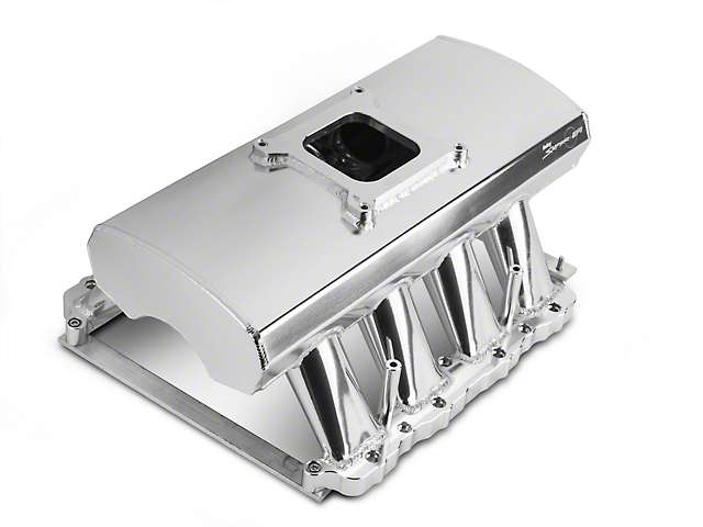 Sniper Fabricated Intake Manifold w/ Fuel Rail Kit - Silver (05-10 GT)