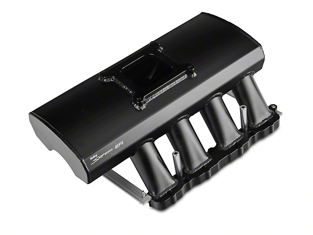Sniper Fabricated Intake Manifold w/ Fuel Rail Kit - Black (05-10 GT)