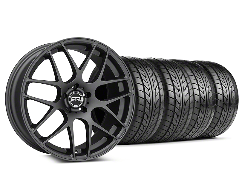 RTR Charcoal Wheel & NITTO NT555 G2 Tire Kit - 19x8.5 (05-14 All)