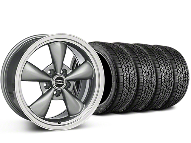 Bullitt Anthracite Wheel & BF Goodrich G-FORCE COMP 2 Tire Kit - 20x8.5 (05-14 All)