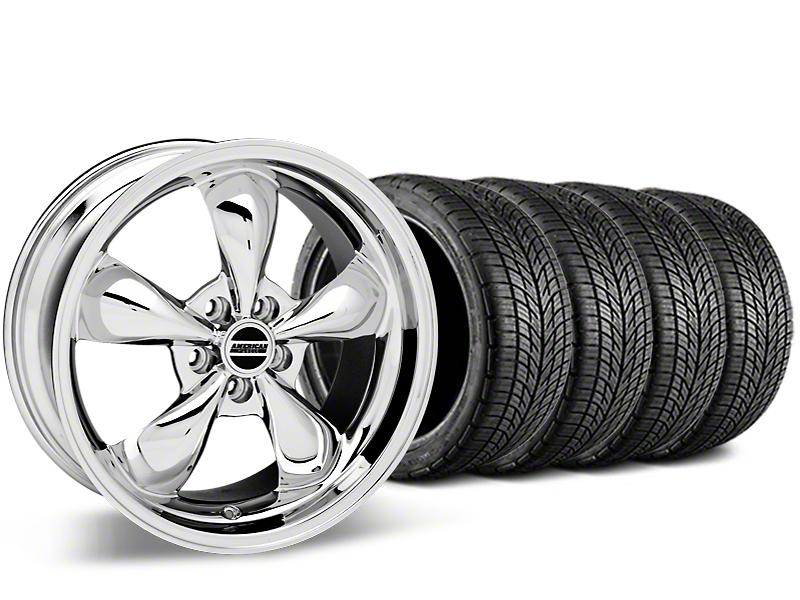 Bullitt Chrome Wheel & BF Goodrich G-FORCE COMP 2 Tire Kit - 20x8.5 (05-14 All)