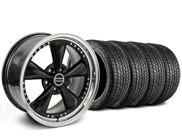 Bullitt Motorsport Black Wheel & BF Goodrich G-FORCE COMP 2 Tire Kit - 20x8.5 (05-14 All)
