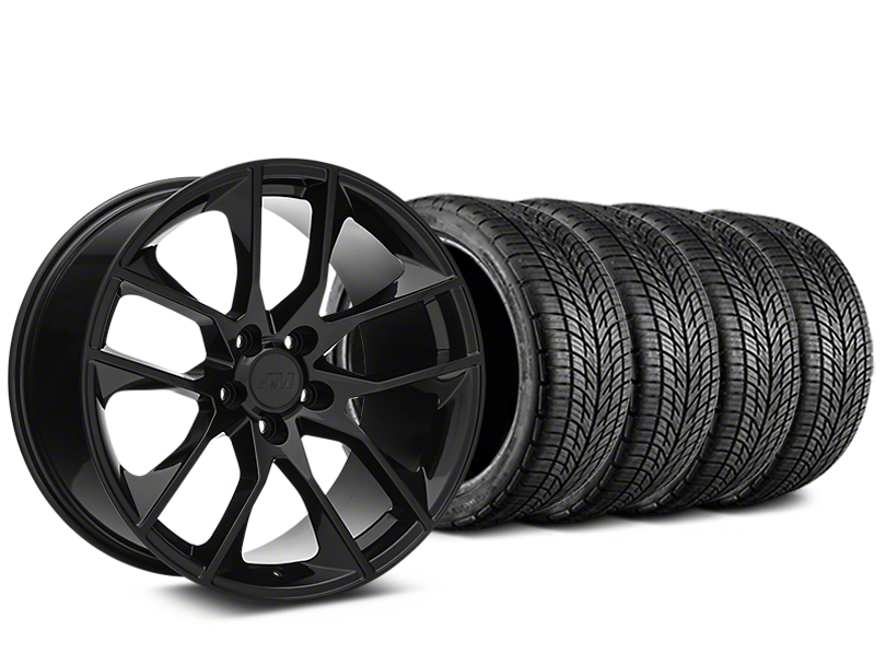 Magnetic Style Black Wheel & BF Goodrich G-FORCE COMP 2 Tire Kit - 20x8.5 (05-14 All)