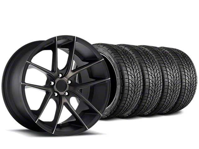 Niche Targa Matte Black Wheel & BF Goodrich G-FORCE COMP 2 Tire Kit - 20x8.5 (05-14 All)