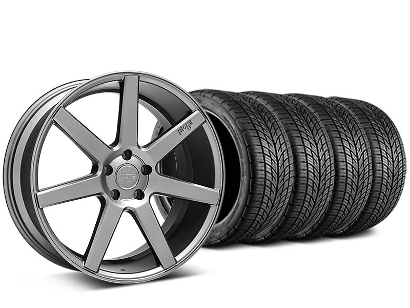 Niche Verona Anthracite Wheel & BF Goodrich G-FORCE COMP 2 Tire Kit - 20x9 (05-14 All)