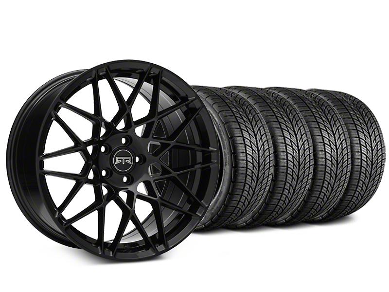 RTR Tech Mesh Black Wheel & BF Goodrich G-FORCE COMP 2 Tire Kit - 20x9.5 (05-14 All)