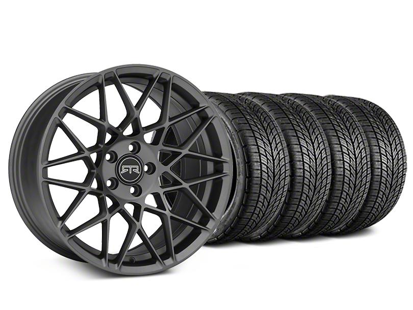RTR Tech Mesh Charcoal Wheel & BF Goodrich G-FORCE COMP 2 Tire Kit - 20x9.5 (05-14 All)