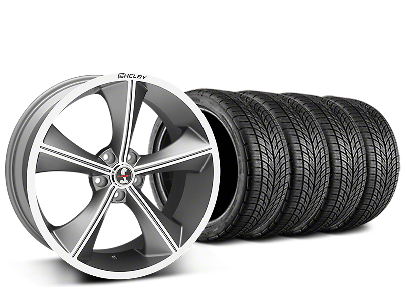 Shelby CS70 Gunmetal Wheel & BF Goodrich G-FORCE COMP 2 Tire Kit - 20x9 (05-14 All)