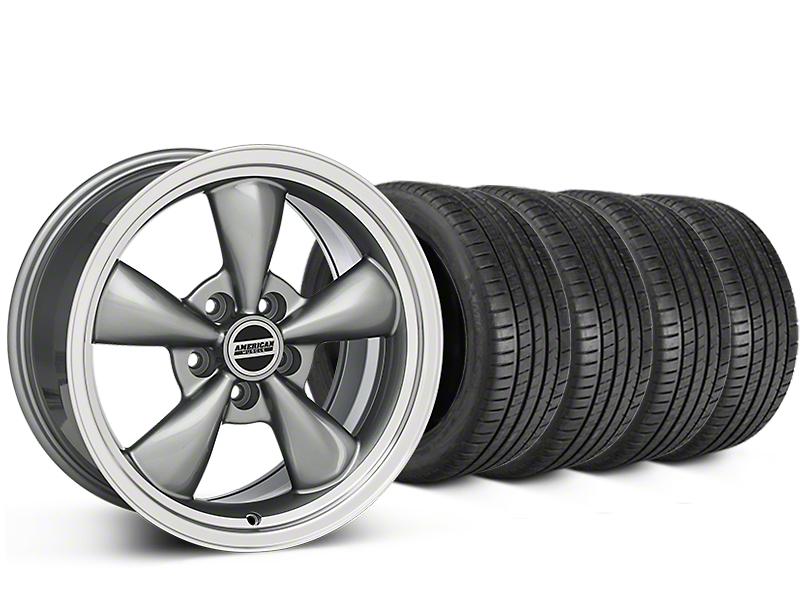 Bullitt Anthracite Wheel & Michelin Pilot Super Sport Tire Kit - 20x8.5 (05-14 All)