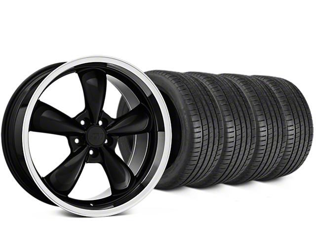 Bullitt Black Wheel & Michelin Pilot Super Sport Tire Kit - 20x8.5 (05-10 GT; 05-14 V6)