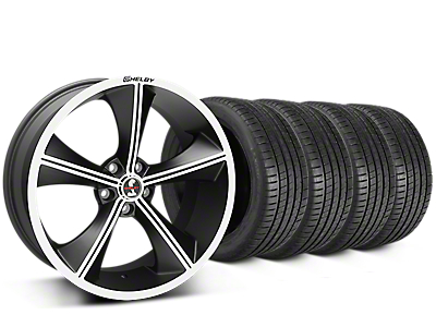 Shelby CS70 Matte Black Wheel & Michelin Pilot Super Sport Tire Kit - 20x9 (05-14 All)