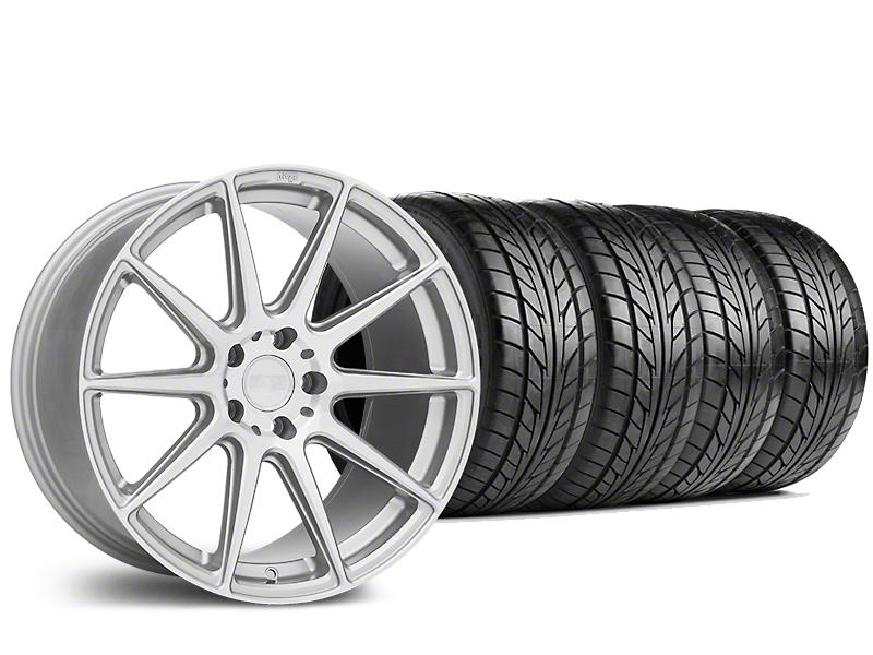 Niche Essen Silver Wheel & NITTO NT555 G2 Tire Kit - 19x8.5 (15-17 All)