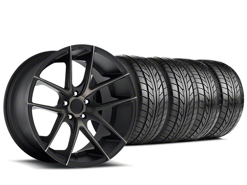 Niche Targa Matte Black Wheel & NITTO NT555 G2 Tire Kit - 19x8.5 (15-17 All)