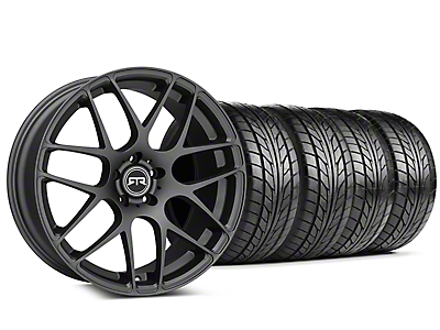 RTR Charcoal Wheel & NITTO NT555 G2 Tire Kit - 19x8.5 (15-18 GT, EcoBoost, V6)