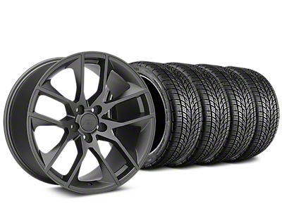 Magnetic Style Charcoal Wheel & BF Goodrich G-FORCE COMP 2 Tire Kit - 19x8.5 (15-19 GT, EcoBoost, V6)