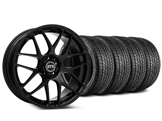 RTR Black Wheel & BF Goodrich G-FORCE COMP 2 Tire Kit - 19x8.5 (15-18 All)