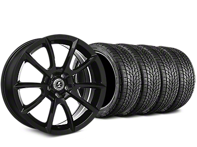 Shelby Super Snake Style Black Wheel & BF Goodrich G-FORCE COMP 2 Tire Kit - 19x8.5 (15-17 V6, GT, and EcoBoost)