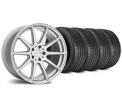 Niche Essen Silver Wheel & Michelin Pilot Super Sport Tire Kit - 19x8.5 (15-18 All)