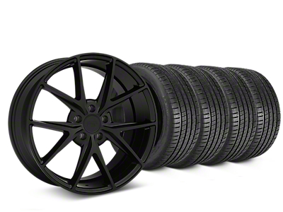 Niche Misano Matte Black Wheel & Michelin Pilot Super Sport Tire Kit - 19x8.5 (15-18 All)