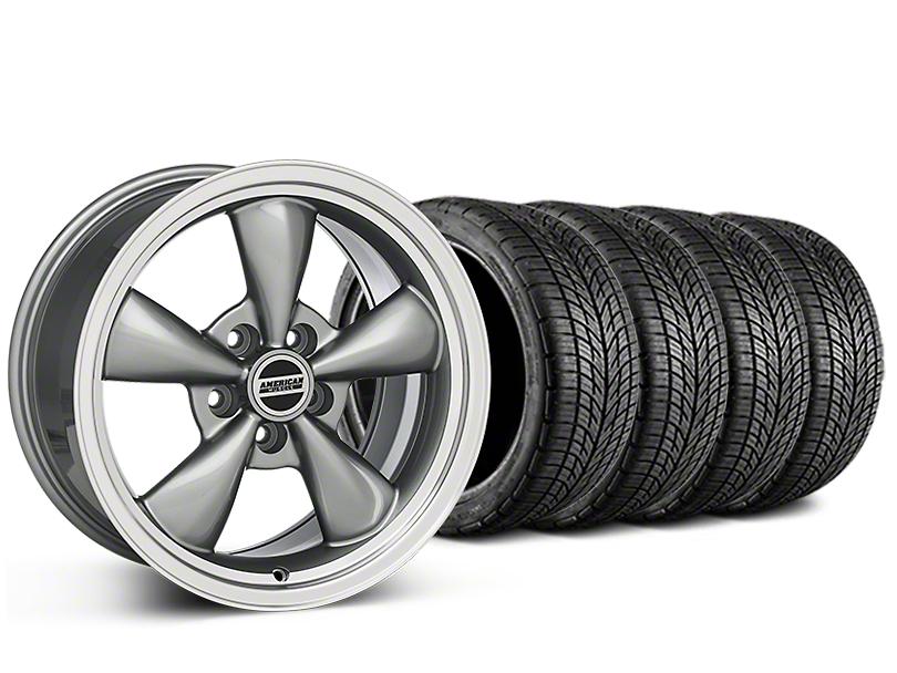 Bullitt Anthracite Wheel & BF Goodrich G-FORCE COMP 2 Tire Kit - 20x8.5 (15-18 EcoBoost, V6)