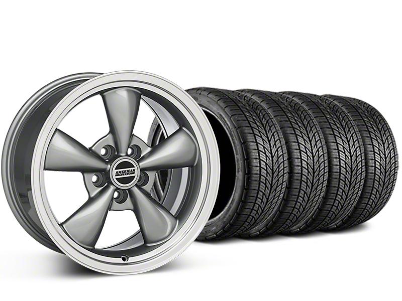 Bullitt Anthracite Wheel & BF Goodrich G-FORCE COMP 2 Tire Kit - 20x8.5 (15-17 EcoBoost, V6)