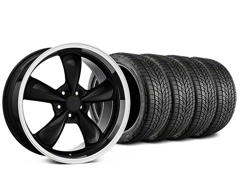 Bullitt Black Wheel & BF Goodrich G-FORCE COMP 2 Tire Kit - 20x8.5 (15-17 EcoBoost, V6)