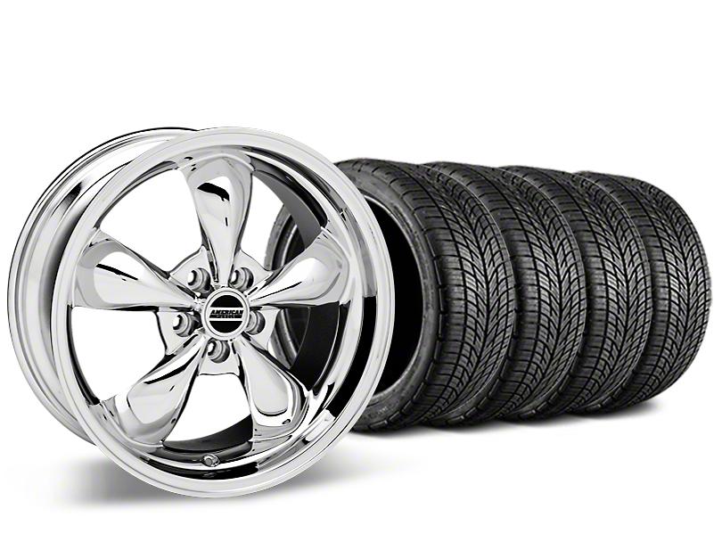 Bullitt Chrome Wheel & BF Goodrich G-FORCE COMP 2 Tire Kit - 20x8.5 (15-18 EcoBoost, V6)