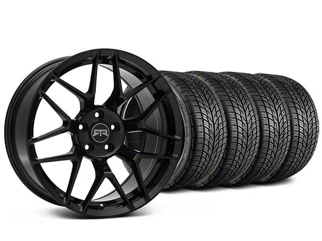 RTR Tech 7 Black Wheel & BF Goodrich G-FORCE COMP 2 Tire Kit - 20x9.5 (15-17 All)