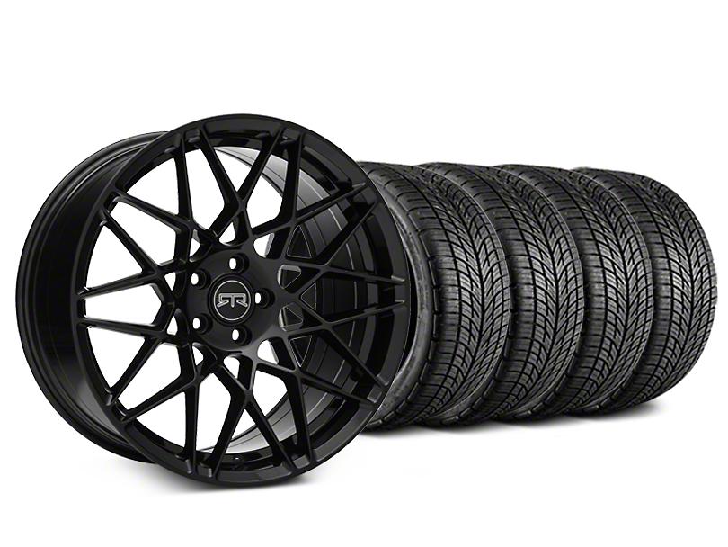 RTR Tech Mesh Black Wheel & BF Goodrich G-FORCE COMP 2 Tire Kit - 20x9.5 (15-18 All)