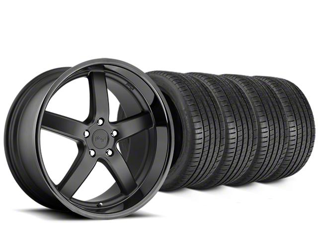 Niche Pantano Matte Black Wheel & Michelin Pilot Super Sport Tire Kit - 20x9 (15-18 All)